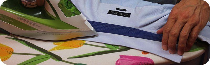 Planchando camisas de vestir